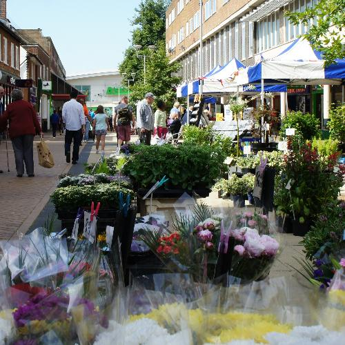 Farmers Market at Hatfield Town Centre
