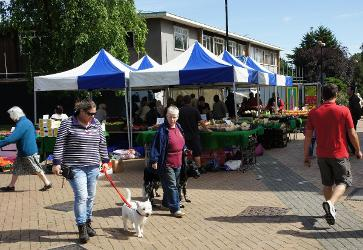 Image representing Hatfield Town Centre general market