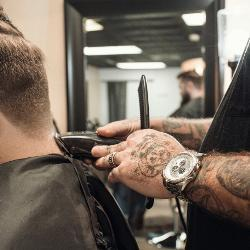 An image relating to The Tattooed Barber