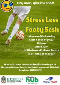 Image for Stress less footy